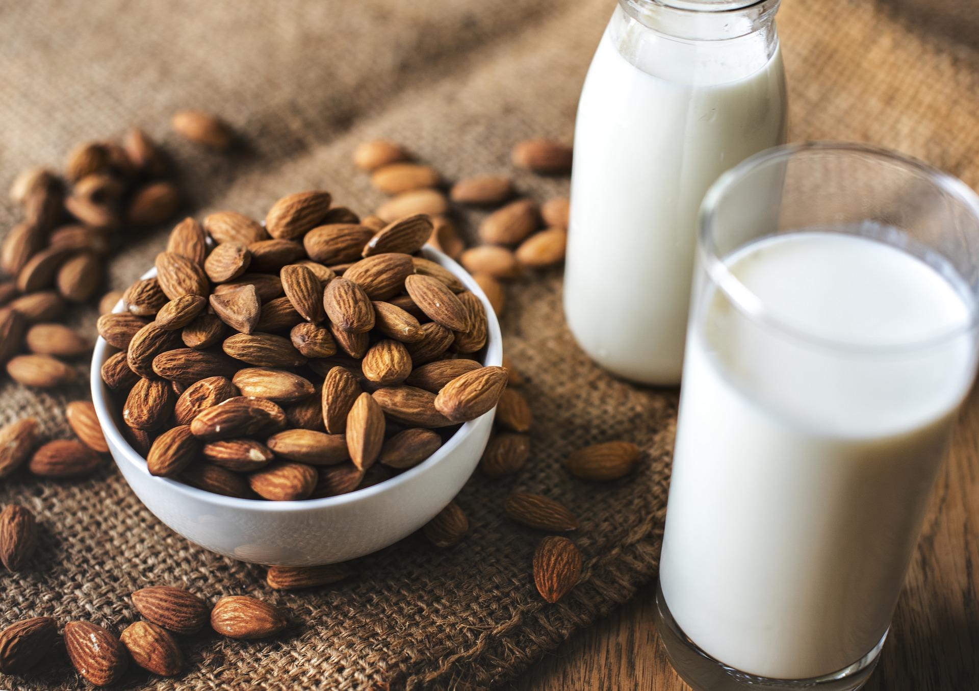 amandelen, melk