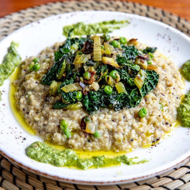quinoa kitchar met lentegroenten